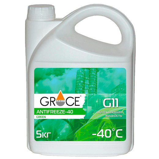 GRACE ANTIFREEZE-40 G11 green